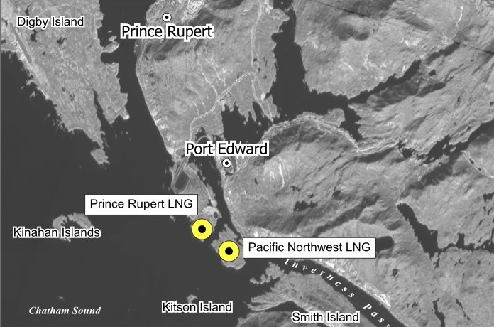 Proposed Projects   LNG in Northern BC