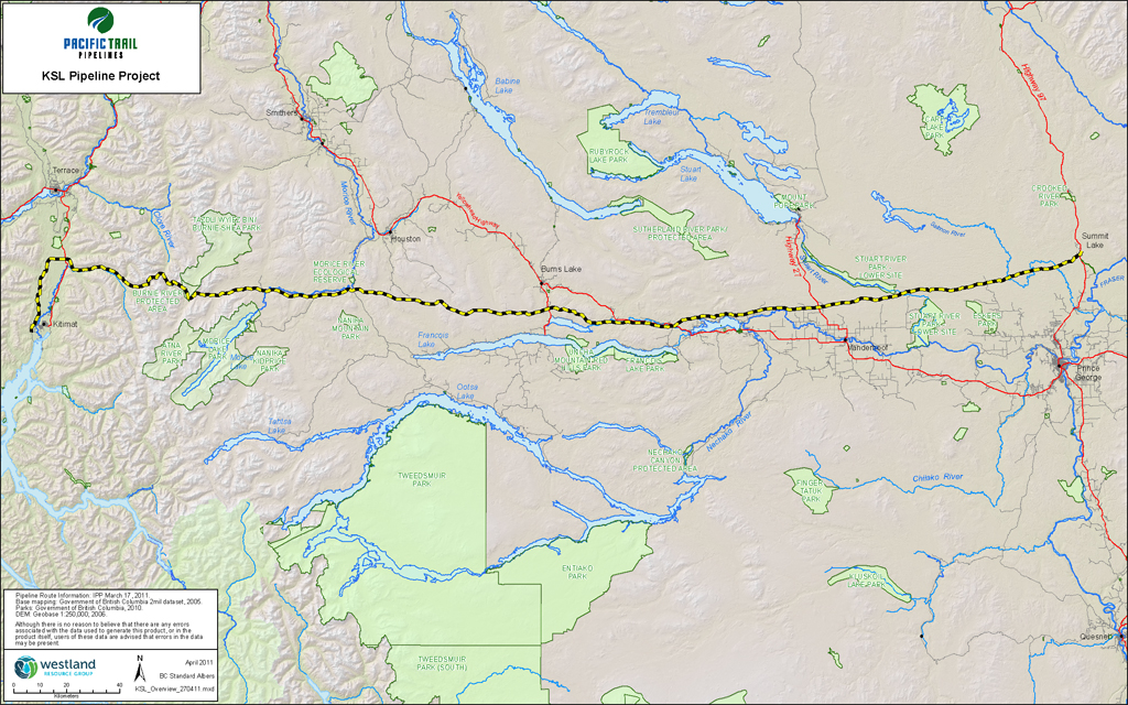 KITIMAT LNG AND PACIFIC TRAIL PIPELINES | LNG in Northern BC